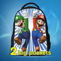 new fashin 2017 cartoon doll super mario school backpack high quality mario bag for boys and girls mario bros bag minions free