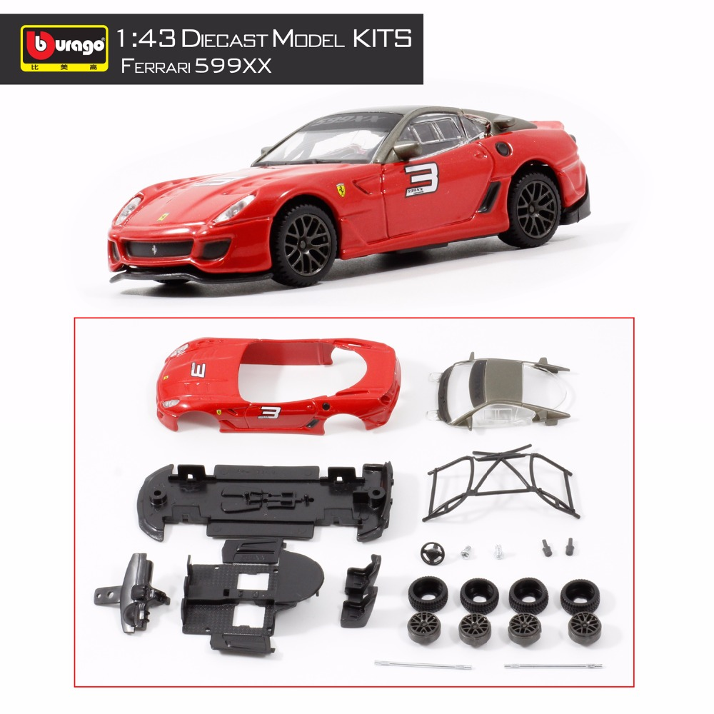 599xx vehicle model building kits 143 assembly toys kids gift diy diecast toy car