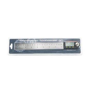 200mm Digitale Winkel Regel Neigungsmesser Winkelmesser Edelstahl Elektronische Goniometer Winkel Finder Mess Werkzeuge