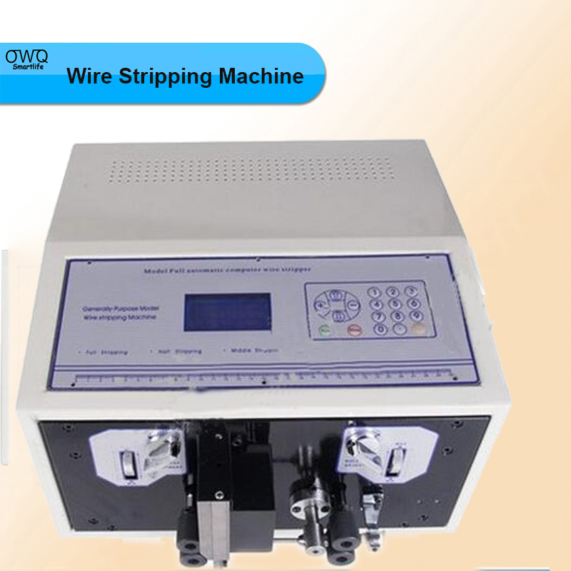 Computer Automatic Wire Stripping Machine,electric Wire Cutting Machine,Wire stripper/barker 110v/220v SWT508-SD LCD Display  swt508c ii automatic wire stripping aachine model swt508d 110 220v two wheel drive