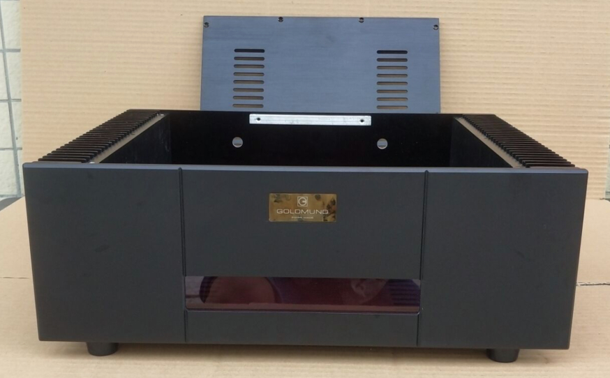 Imitation Goldmund/all-aluminum Post-amplifier Chassis (430*150*311)