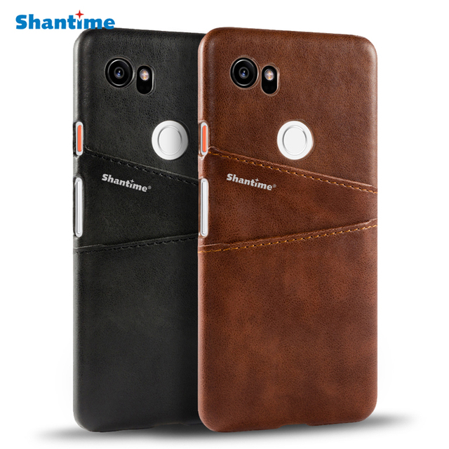 new products 6cb0a 255e1 US $4.99 |Luxury Pu Leather Back Cover For Google Pixel 2 XL Wallet Case  For Google Pixel 2 Business Card Slots Phone Bag Case-in Wallet Cases from  ...
