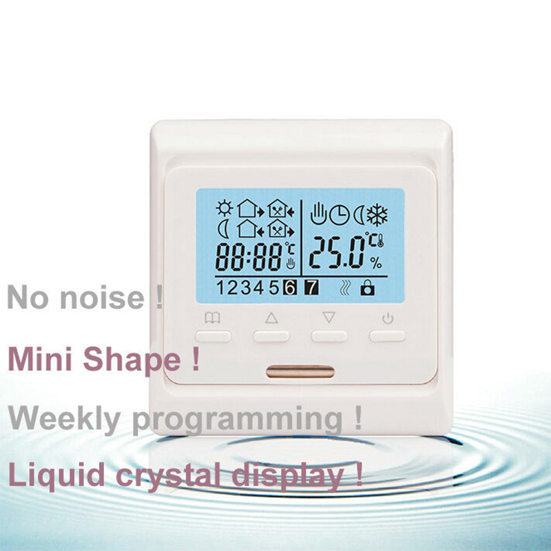 Electric Floor Heating System Room LCD Screen Thermostat Warm Floor Heating System Thermoregulator 220V Temperature Instrument
