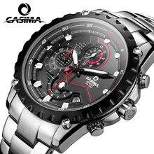 CASIMA mode loisirs et d'affaires hommes montre sport montres multifonctions tapis roulant wirst quartz montre étanche 100 M