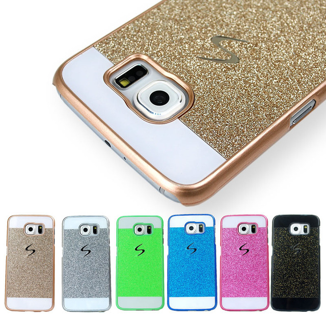 2b97472c22 Original Phone Case For Samsung Galaxy S6 Cases Luxury Ultra Thin Bling  Back Cover Case For Samsung Galaxy S6 G9200 Accessories