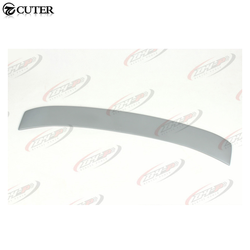 A4 B6 ABT style PU rear window roof wing spoiler lip for Audi A4 B6 2003-2005 a4 b7 rear roof lip spoiler wing for audi a4 b7 2005 2008 carbon fiber abt style