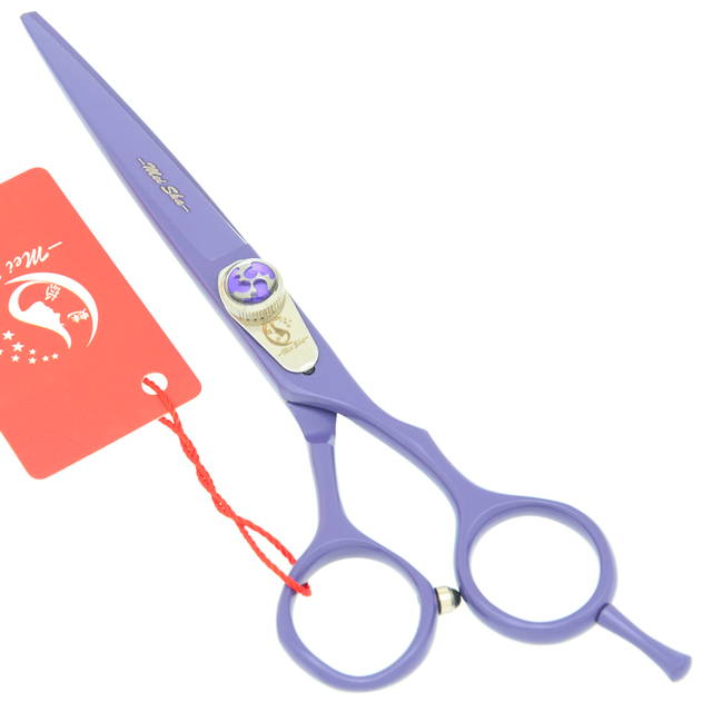 Meisha 6 Inch Purple Hair Scissors Hairdressing Shears Barber Cutting Tyling Tools Salon Hairdresser Supplies