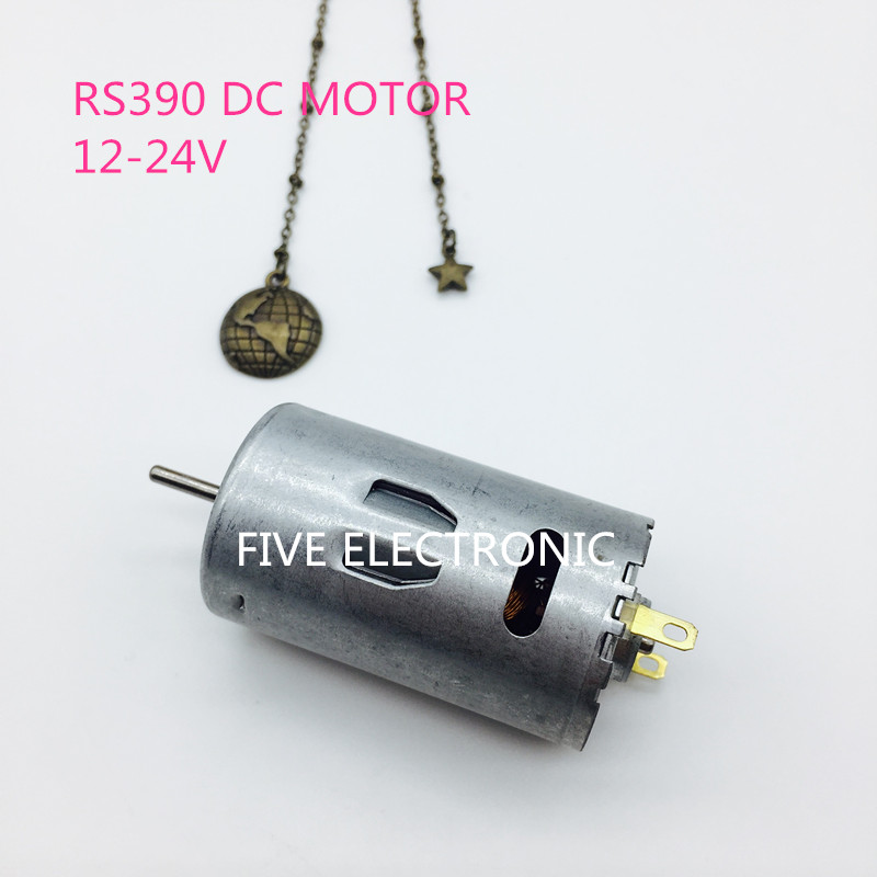 RS390 Carbon-brush 390 DC MOTOR,RS-390, Use for Hair Dryer/ electric screw driver/DIY MODEL/Electronic Toys