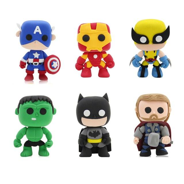 new cartoon movie figure soft smart clay playdough slime toys diy