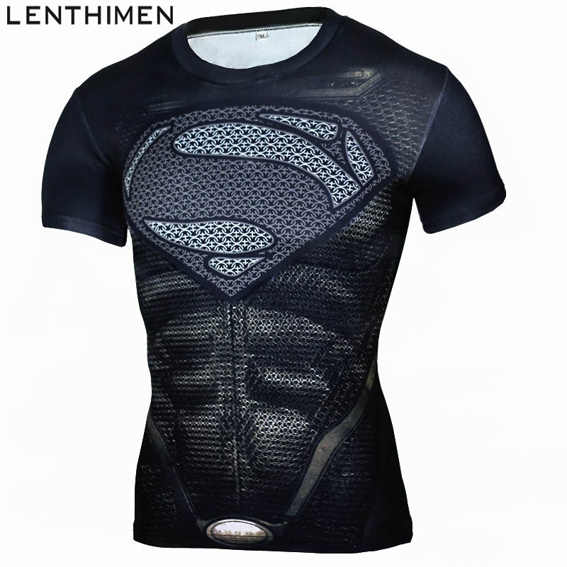 LENTHIMEN Crossfit Tank Top Men Short Sleeve Running Shirts Quick Dry Compression Fitness Tights Sport Shirt Men Gym Sports WearLENTHIMEN Crossfit Tank Top Men Short Sleeve Running Shirts Quick Dry Compression Fitness Tights Sport Shirt Men Gym Sports Wear