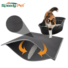 Waterproof Cat Litter Mat Litter Trapper of S-XL Honeycomb Double-Layer Design With Easy Clean and Floor Protection Cat Supplies characterisation of broiler chicken litter odour