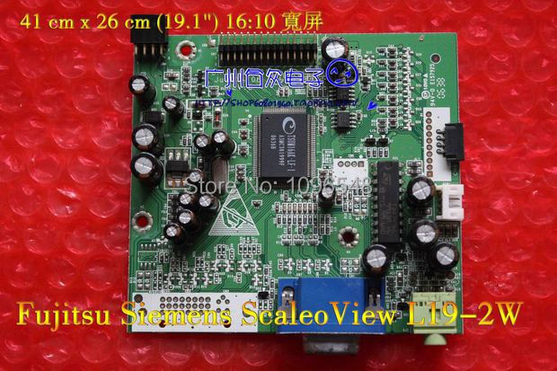 все цены на Free Shipping>Original 100% Tested Work L19-2W Driver Board/signal plate/DAOL9FMB031 онлайн