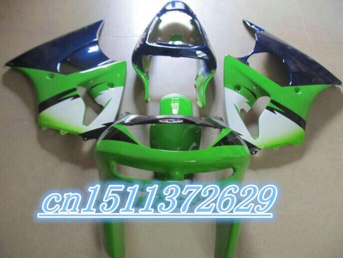 Bo Hot Sales ZX 6 R 98 99 ZX Fairing Kit Kawasaki Ninja ZX6R Green