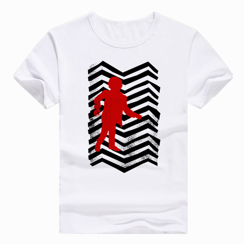 Asian Size Print Twin Peaks Black lodge Flag Boy T-shirt Summer Casual Short sleeve O-Neck Tshirt For Men And Women HCP339