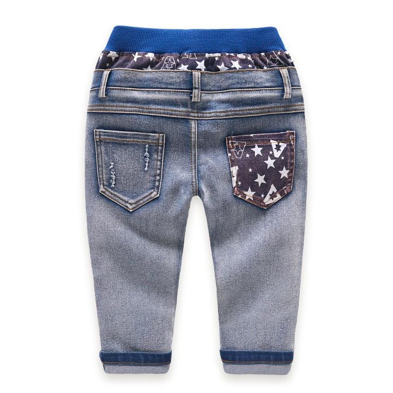 Kids Jeans Boys Girls Full Length Jeans Panty Panties Sring Autumn Cotton Fashion Casual Style Convenient Elastic Waist 2