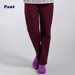 Image 5 - ANNO рабочие брюки для доктора, униформа для медсестры, штаны из хлопка с большим количеством карманов, зубные скрабы, штаны для спа ухода