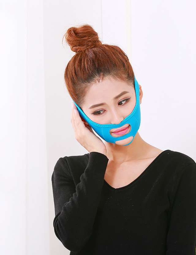 Ange Aile Face Band Massage Face V Shaper Facial Slimming Bandage Relaxation Lift Up Belt Shape Lift Double Chin Face Mask portable facial massager roller flower shape elastic anti wrinkle face lift slimming face face shaper relaxation beauty tools