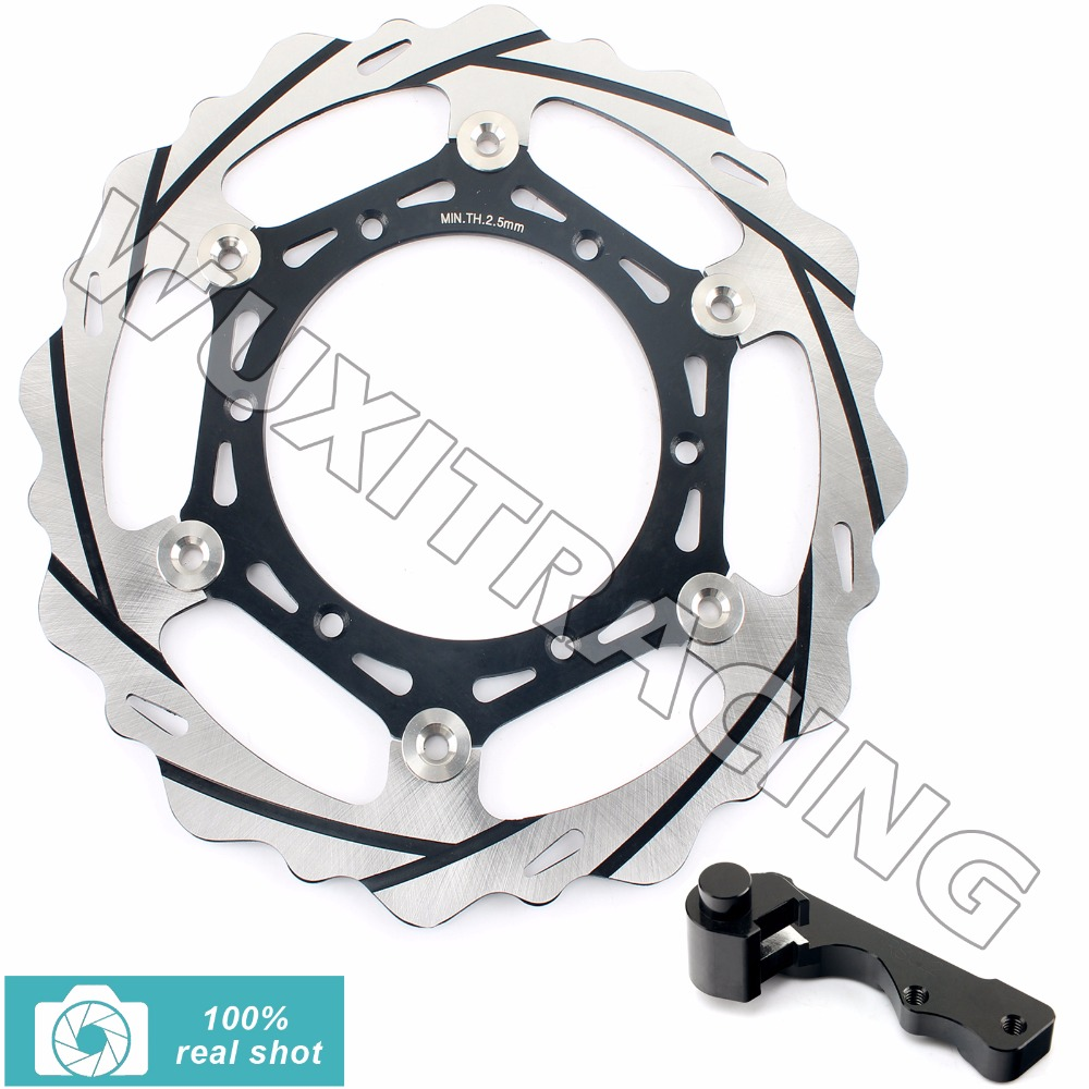 270MM Oversize Front Brake Disc Rotor Bracket for SUZUKI RM 125 250 RM125 RM250 96-12 DRZ 400 S E 00-09 01 02 03 04 05 06 07 08 fit for rm 125 00 09 rm250 00 01 02 03 04 05 06 07 08 09 10 11 12 front rear brake disc rotor bracket bracket oversize 320mm