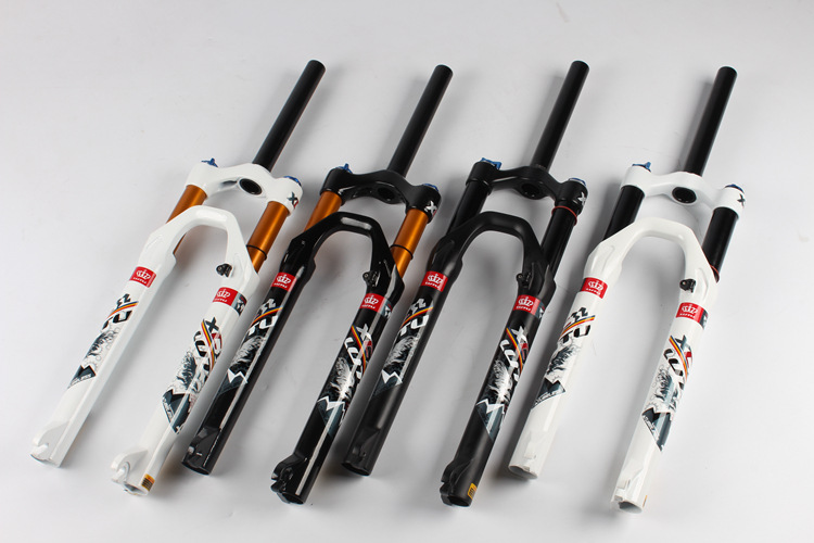 NEW Bicycle Front Forks MTB Mountain Bike Air Shock Suspension Fork 26/27.5/29 kiwat 2012 26 front suspension fork for mountain bike bicycle black