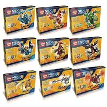 Lepin Ultimate Clay Aaron Robin Macy Beast Nexo Knights Minifigures Building Blocks DIY Bricks Toys Without Original Box
