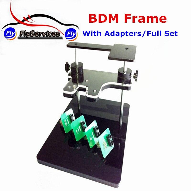 BDM Рамки с полным набором Адаптеры для сим-карт Поддержка BDM100 + Ctrl + FGTECH чип инструмент настройки Быстрая доставка