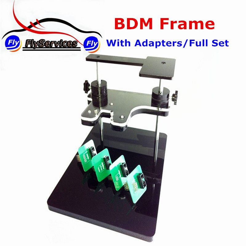 BDM Frame With Full Set Adapters Support BDM100+CMD+FGTECH Chip Tuning Tool Fast Shipping free shipping cmd can flasher v1251 with high performance cmd v1251 professional ecu chip tuning tool cmd 1251