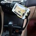 Cobao многофункциональный Универсальный Двойной USB, Автомобильное Зарядное Устройство мобильного Телефона Держатель Кронштейн стенды для iPhone 5 6 Plus Galaxy S4 S5 S6 GPS