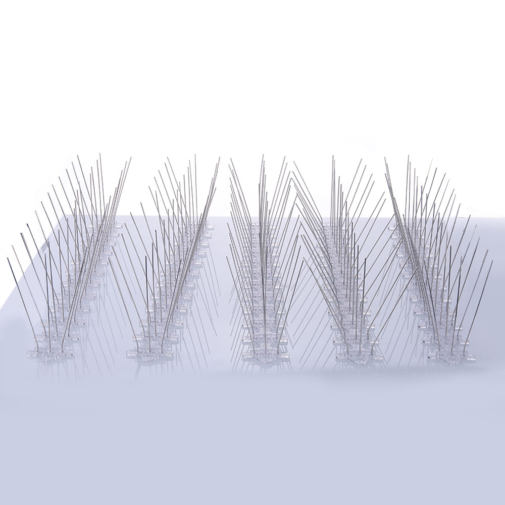 250cm Plastic Bird And Pigeon Spikes Anti Bird Anti Pigeon Spike For Get Rid Of Pigeons And Scare Birds Pest Control