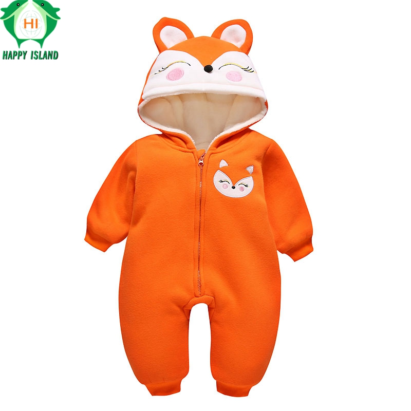 11 Style Spring Autumn 0-24M Newborn Baby Clothes Flannel Boy Clothing Cartoon Animal Jumpsuit Baby Girl Rompers Kids Pajamas