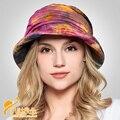 2016 Nuevos sombreros de playa sombreros de las mujeres sombrero de verano, muchacha grande bongrace sombrero de ala ancha flor sunhat B-2284