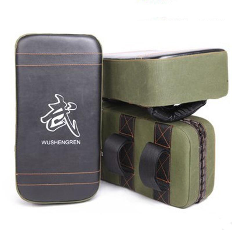 Almofadas de Boxe Mma para Boxe Novas Thai Kick Boxe Strike Pads Muay Braço Soco Taekwondo pé Alvo Verde