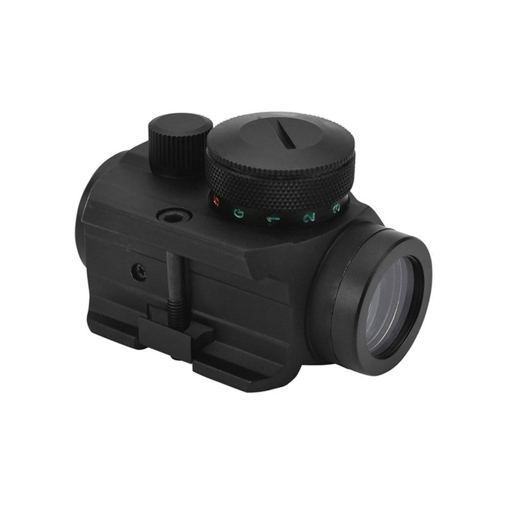 Tactical Mini Micro RedDot Scope Sight With QD Quick Riser Mount Quick Detach Red Dot Sight