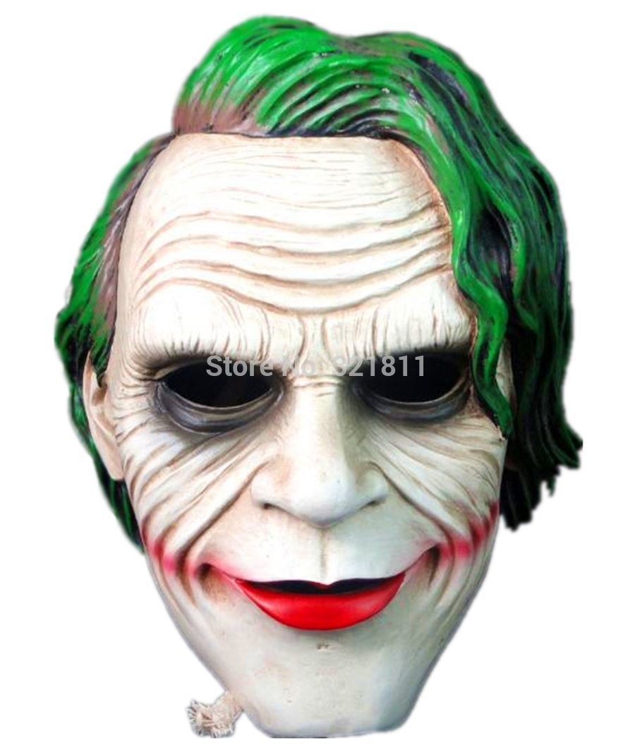 Resin Batman Dark Knight Joker Mask-in Party Masks from Home u0026 Garden on Aliexpress.com | Alibaba Group  sc 1 st  AliExpress.com & Resin Batman Dark Knight Joker Mask-in Party Masks from Home ...