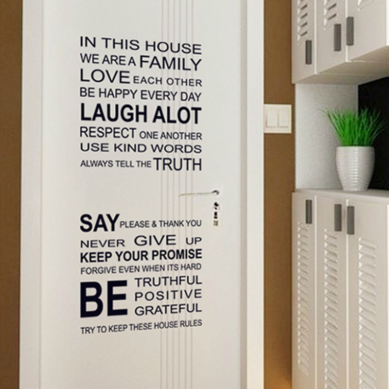 The new can remove office study art wall sticker adhesive type personality sitting room metope decorate wall stickers