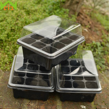 WCIC Germination Nursery Pots Plastic Insert Seeding Tray Propagation Succulents Pot Hydroponic Flower Pot Garden Bonsai Planter