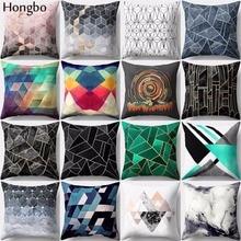 Hongbo 1 Pcs Pillow Case Decor Sofa Cushion Cover Pillowcase Geometry Pattern Pillow Case Home Decor For Sofa Seat недорго, оригинальная цена
