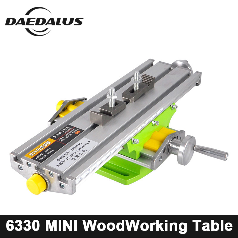 CNC BG-6330 Mini Multifunctional Cross Working Table Bench Vise X Y-axis Adjustment Coordinate Table For Drill Milling Machine mini multifunctional cross working table bench vise manual tools x y axis adjustment table for drilling milling machine bg 6330