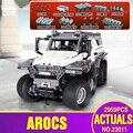 DHL 23011 Serie Technic Off-road Modello di veicolo di Costruzione di Giocattoli Educativi Kit di Blocco di Mattoni Compatibile Con 5360 Modello di Auto giocattoli