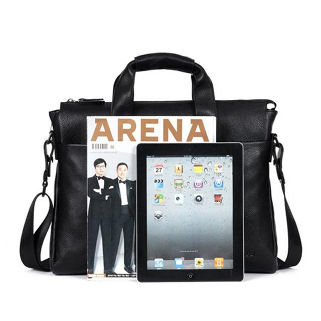 Genuine Leather Men Briefcare / Laptop Bag