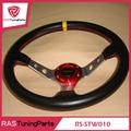 350mm 14 pulgadas momo racing volante de fibra de carbono rs-stw010