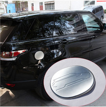 ABS Chrome Fuel Tank Cap Cover Trim For Land Rover Range Rover Sport 2014-2017 Car Accessories цены онлайн