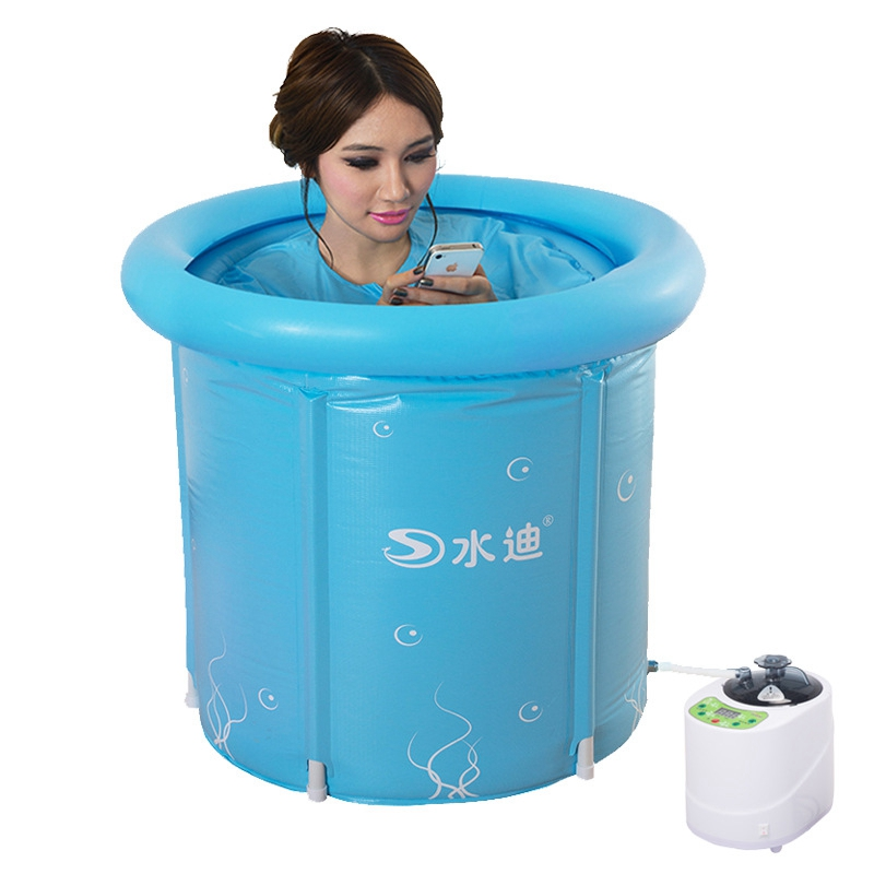 3 size option body multi function Inflatable Steam room bath barrel ...