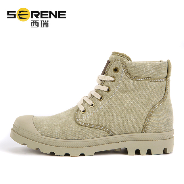 Men Canvas Shoes Lace-up Fashion Footwear Outdoor Light Weight Shoes Comfortable Casual Shoes Men Ankle Boots 2018 Spring Autumn