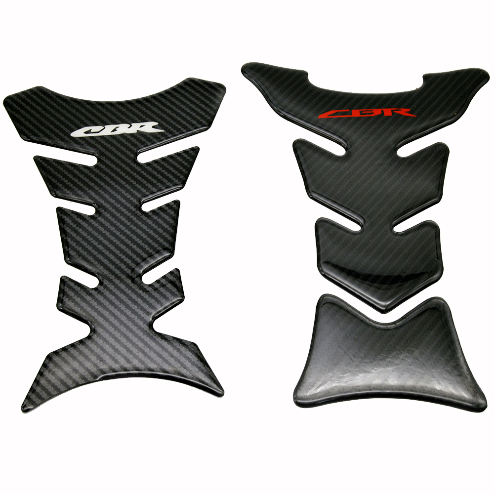 Motorcycle Carbon Fiber Gas Oil Fuel <font><b>Tank</b></font> <font><b>Pad</b></font> Protector Sticker Cover Decal For <font><b>Honda</b></font> <font><b>CBR</b></font> 250RR 600RR 900RR 1000RR <font><b>650F</b></font> 500R image