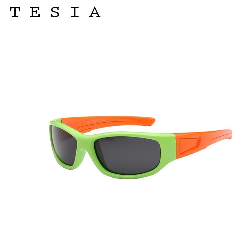 TESIA Niños polarizados Gafas de sol Niños Silicona Flexible - Accesorios para la ropa - foto 5