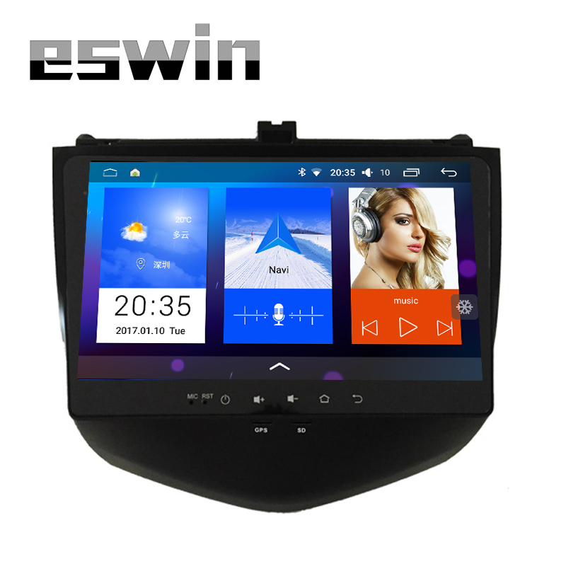 Android 5.1.1 Car DVD Player For Honda Accord 7 2003 2004 2005 2006 2007 Support Both Single and Dual AC Gasoline Car GPS Wifi
