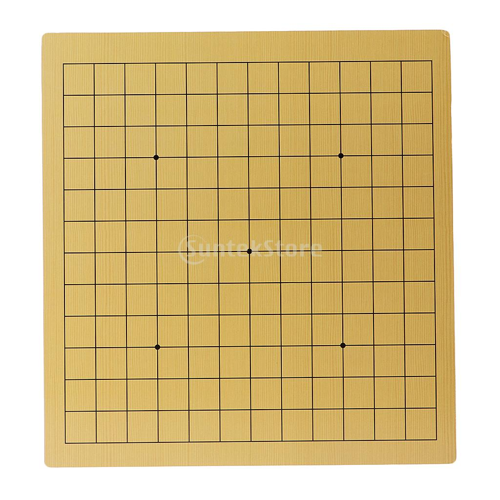 13-way / 9-way Wooden Double Sided Weiqi Chess Game Board Go Game Chessboard