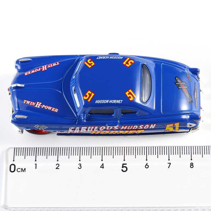 Disney Pixar Cars 3 Тачки 2 Мак дядя и сказочные Hudson Hornet грузовик игрушечный автомобиль литья под давлением 1:55 Свободные Новое на складе