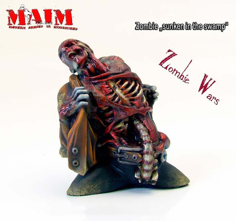 Sunken in the Swamp 1 Figure MAiM Models 1//35 Zombie