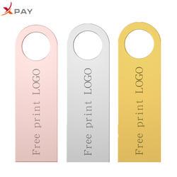 XPAY флеш-накопитель 2,0 u диск 32 Гб usb флеш-накопитель 64 ГБ практическая емкость 16 ГБ 8 ГБ 4 ГБ memoria usb металлический флеш-накопитель 128 ГБ